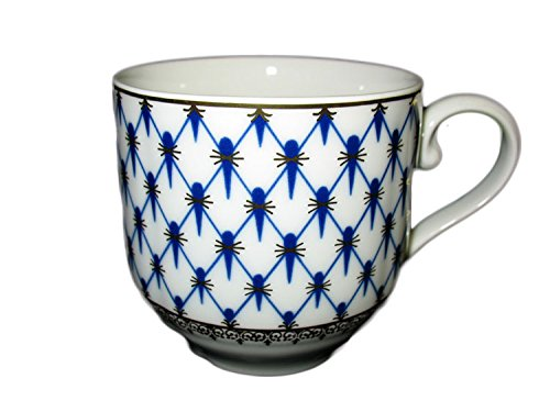 Cobalt Net Herbal Tea Mug