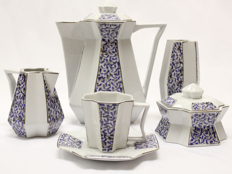 Coffee Set Diamond CZECH MADE