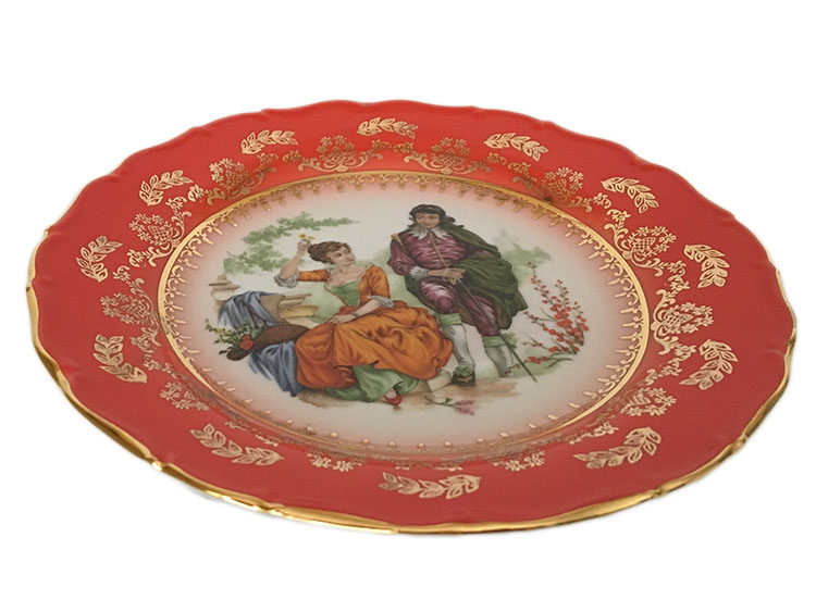 Madonna Original Red-Ruby Plate Salad 7.5 in / 19 cm