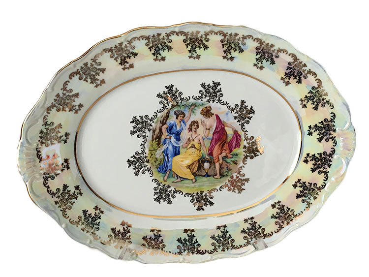 Made in Czech Republic by the (Haas u0026 Czjzek) u2013 the first Porcelain Factory in Bohemia.  sc 1 st  BohemianGifts.com Authorized Bohemian Products Retailer & Madonna Original Classic Dinner Set