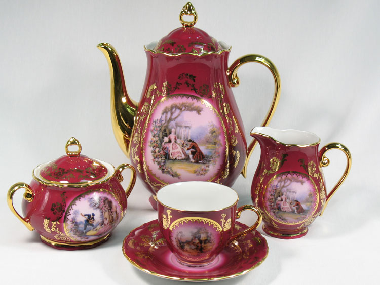 Madonna Cherry Romeo & Juliet Coffee Set