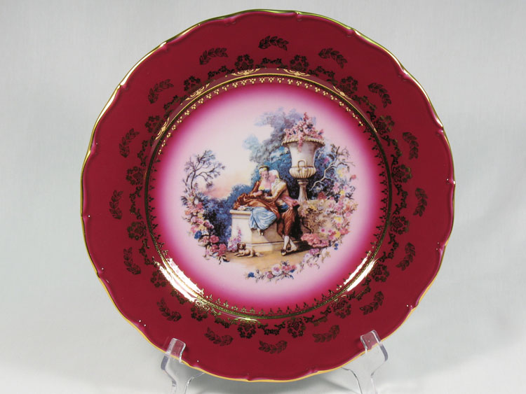 Madonna Cherry Romeo & Juliet Dinner Plate