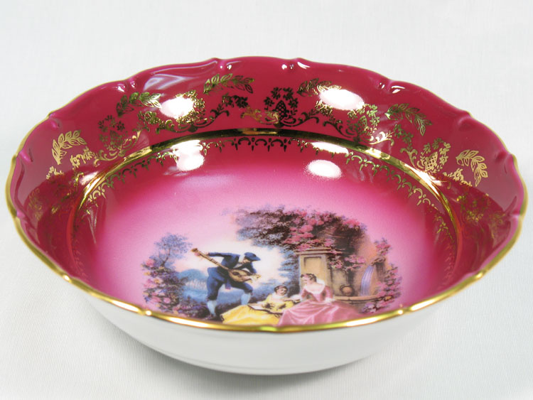 Madonna Cherry Romeo & Juliet Fruit Bowl 17 cm