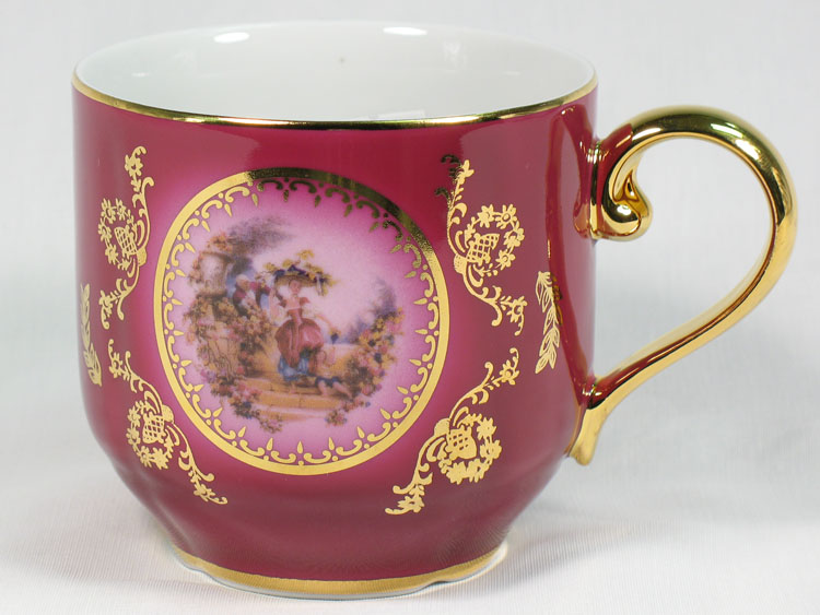Madonna Cherry Romeo & Juliet Herbal Tea Mug