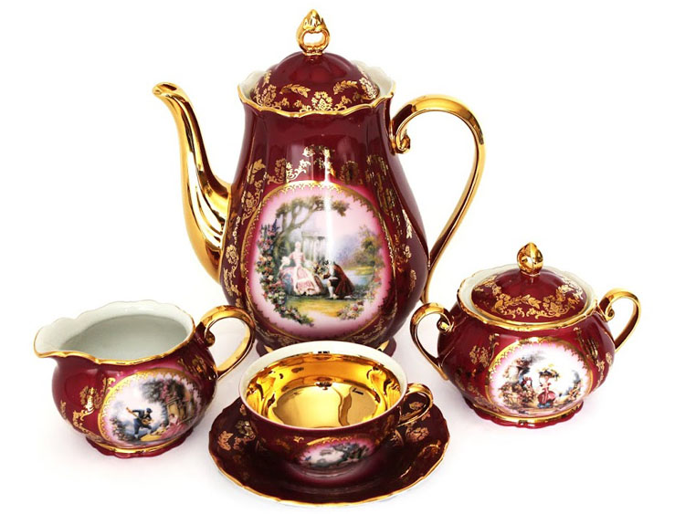 Madonna Cherry Romeo & Juliet Tea Set
