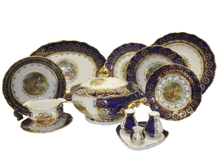Dinner Set Madonna Cobalt Romeo & Juliet