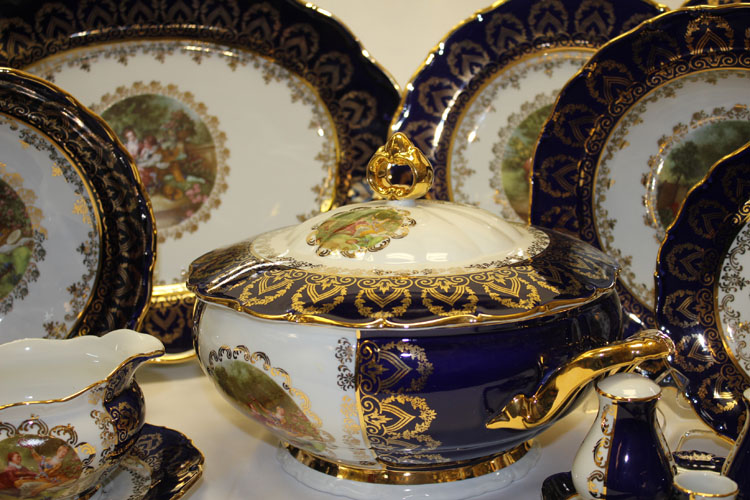 Dinner Set Madonna Cobalt Romeo Amp Juliet